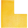 Durable Floor Markings L Shape Yellow Pack of 10