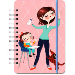 Orange Circle Planner Month To View 146X210mm Do It All Mom