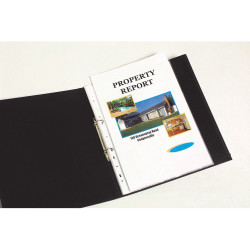 Marbig Sheet Protectors A4 Economy Low Glare Box Of 300