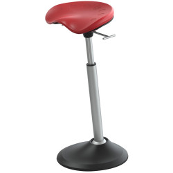 Focal Upright  Mobis II Stool Active Seating Chili Pepper Red