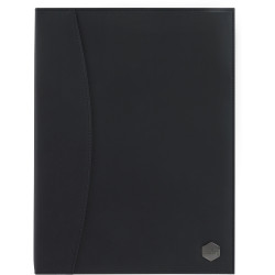 Marbig Professional Soft Touch A4 Display Book 24 Pocket Black